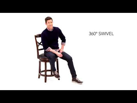 Porter Uph Swivel Barstool
