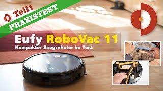 Eufy RoboVac 11 im Test - Teil 1 - Vorstellung und Wohnraum Praxistest