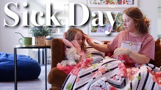 A Day in the Life of a Single Mom with a Sick Toddler
