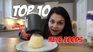10 Keto Diet Foods Every Beginner MUST Eat...TWO That You Wouldn't Expect!