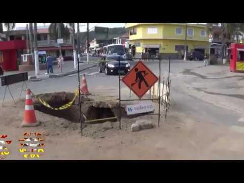 Repórter do Mato mostra que a Sabesp está acabando com as ruas de São Lourenço da Serra