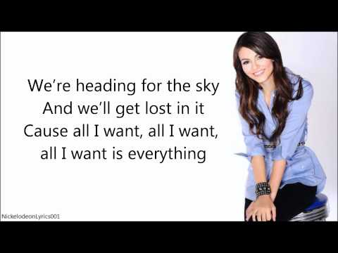 Victoria Justice - All I Want Is Everything (+ Lyrics) FULL SONG