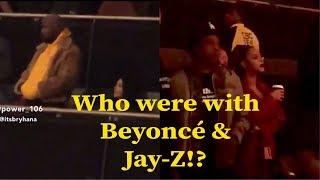 Beyoncé & JAY-Z were in Travis Scott's concert in LA.