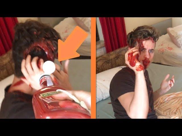 Ketchup In His Sleep Prank Worst Revenge Ever Ethan