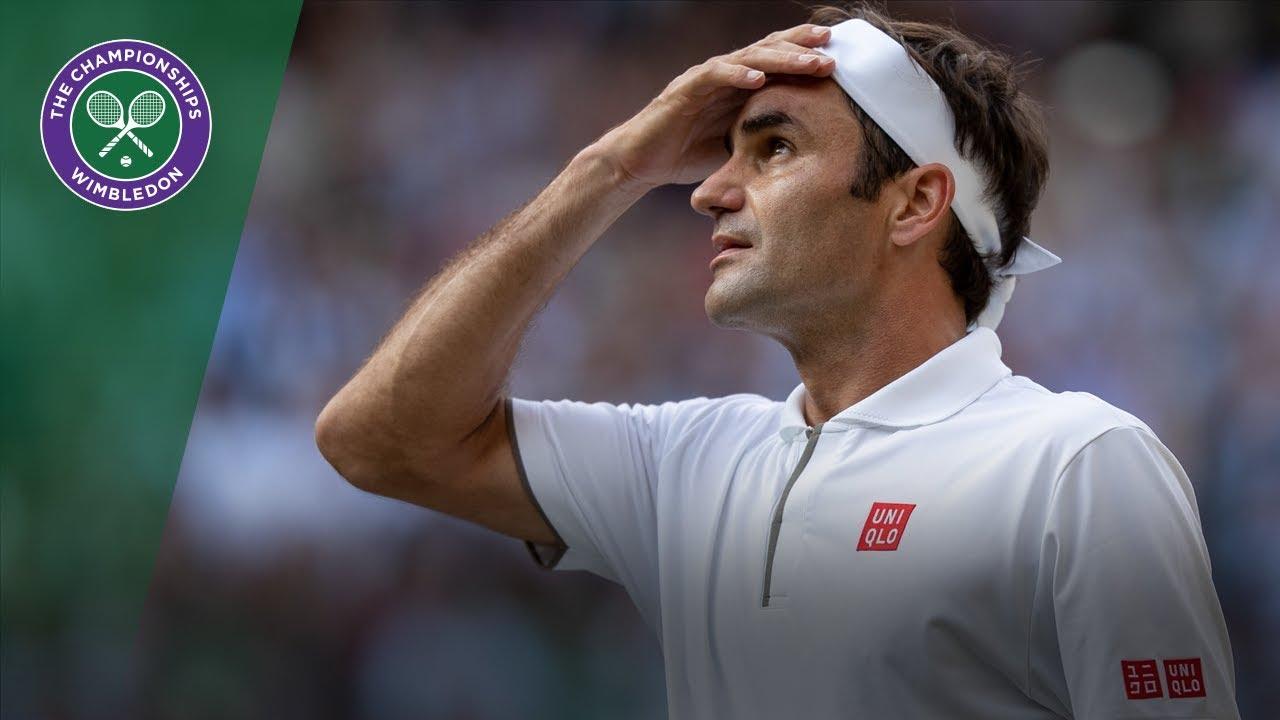 Топ-10 лучших ударов Федерера на Уимблдоне (ВИДЕО)