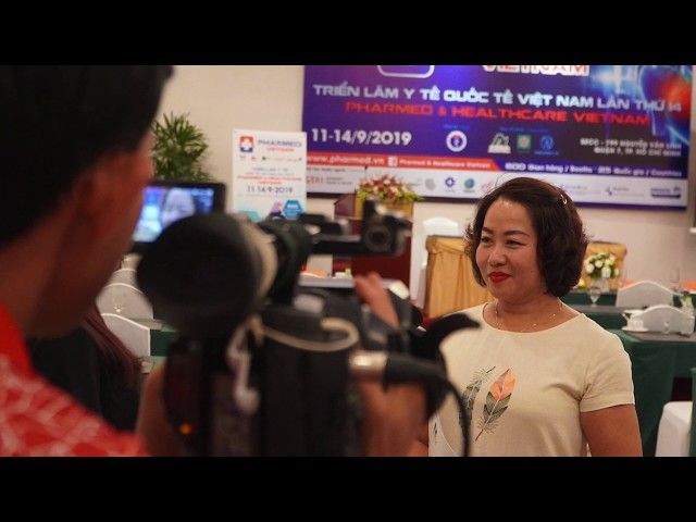 Họp báo: Pharmed & Healthcare Vietnam 2019
