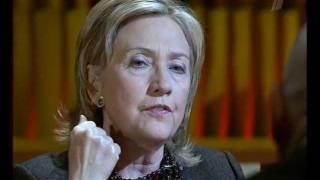 22.03.2010 Хиллари Клинтон.Интервью. Познер.
