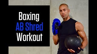 Ultimate 20 Minute Core and Shadow Boxing Workout by NateBowerFitness