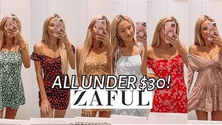 Zaful Summer Dress Try On Haul! *v Cute* **All Under $30!!!**