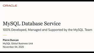 Top Reasons to use MySQL Database Service in the Oracle Cloud