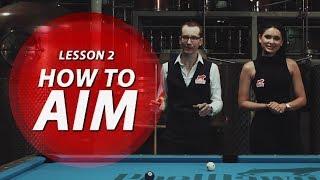 Billiard Tutorial: How to Aim & Cue Ball Control!!!