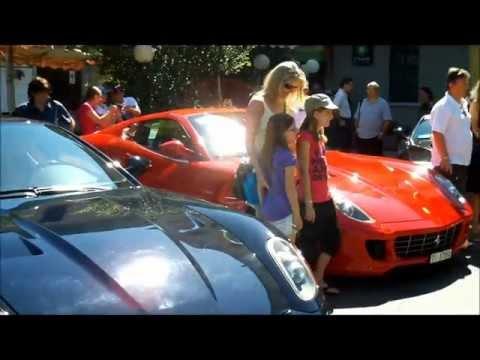 A Laveno Mombello il nono raduno delle Ferrari