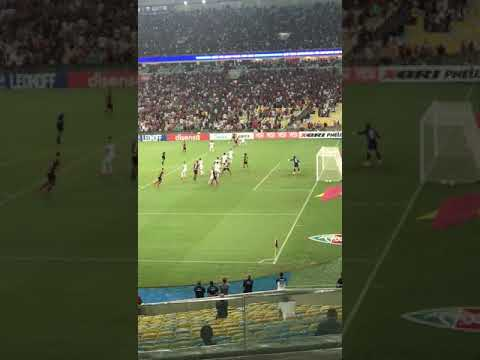 Gol do Flamengo Bruno Henrique Fla x Flu