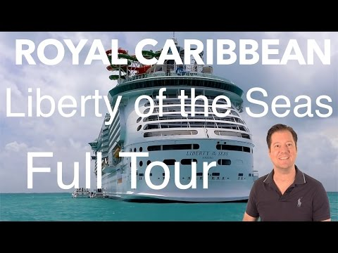 Liberty of the Seas Review – Full Walkthrough – Cruise Ship Tour – Royal Caribbean