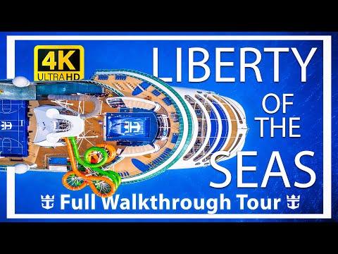 Liberty of the Seas Review – Full Walkthrough – Cruise Ship Tour – Royal Caribbean