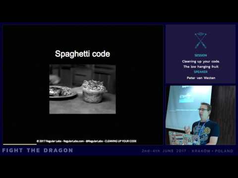JAB17 - Cleaning up your code - The low hanging fruit