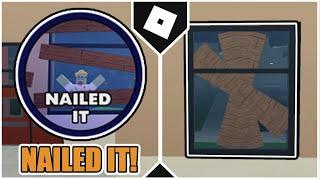 How To Get The NAILED IT! BADGE In FIELD TRIP Z! [ROBLOX]