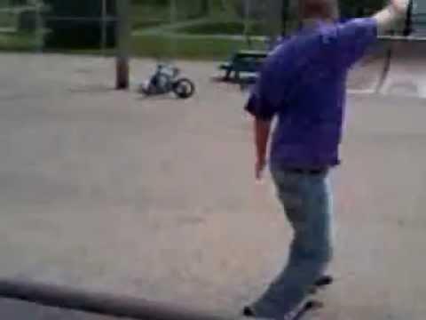 SkateBoarding in Logansport Indiana