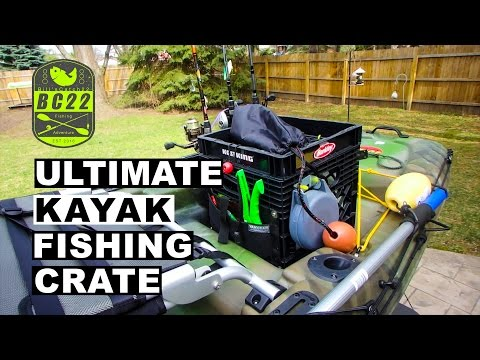 The Ultimate Fishing Milk Crate