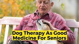 View the video Dog Therapy as Good Medicine for Seniors