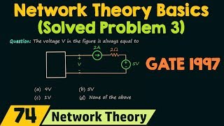 Basics of Network Theory (Solved Problem 3)