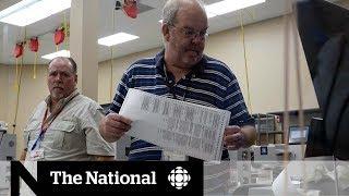 Florida midterm vote recount underway