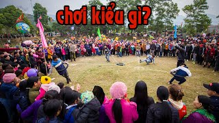 Không nhịn được cười với Trò Chơi mới lạ lần đầu công khai ở Lễ hội Lồng Tông Na Hang - Tuyên Quang