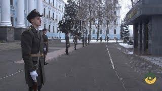 Ранковий церемоніал вшанування загиблих Українських героїв 20 грудня