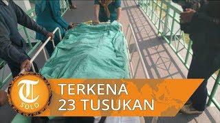 Driver Taksi Online di Palembang Jadi Korban Begal, Terkena 23 Tusukan