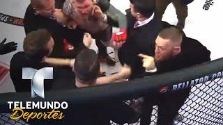 Borran a McGregor del UFC 219 por altercado | MMA | Telemundo Deportes