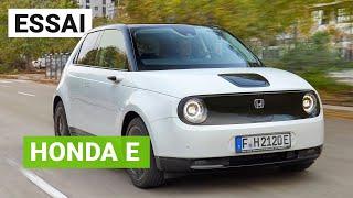 Essai Honda E : une petite ÉLECTRIQUE attachante