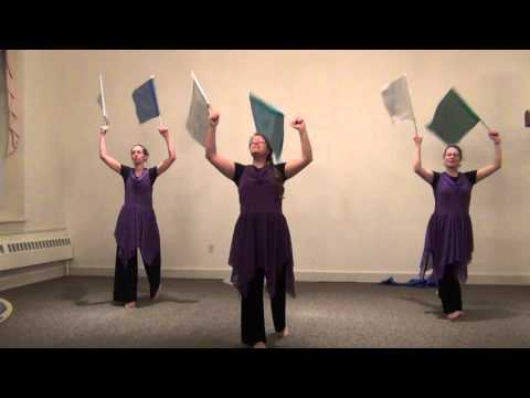 YESHUA Worship Flag Dance Cover|| Jesus Image Worship || Meredith Mauldin || Outdoor Worship