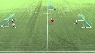 Drible treneren + avslutning (6 - 8 år)