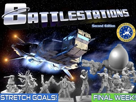 Preview:Battlestations: Second Edition (Board Game Brawl)