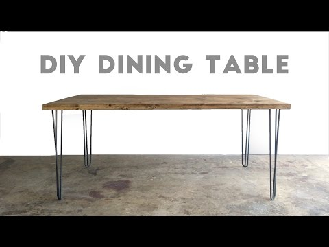 How To Build a Dining Table | Modern Builds | EP. 33