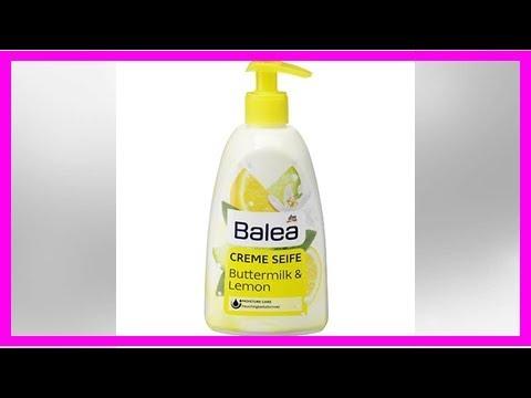 dm-Drogeriemarke: Rückruf wegen Bakterien: Balea Cremeseife Buttermilk und Lemon Balea Cremeseife B