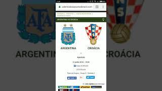 Argentina x Croácia Análise e TIP Gratuita