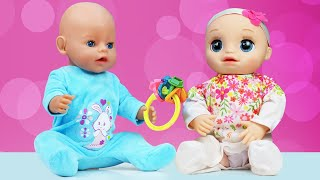 Spielspaß mit Puppen. Baby Born, Baby Alive und tolle Spielzeuge. 2 Folgen am Stück