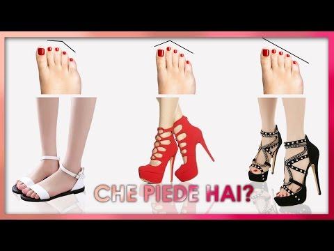 👣👠Che tipo di piede hai? | Tipo di piedi e quali scarpe indossare: tacchi, ballerine o sneakers?