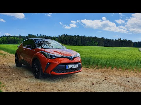 2020 Toyota CH-R Orange Edition Hybrid (184 PS) - Review, Test, Fahrbericht