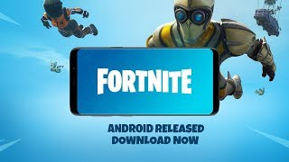 Fortnite Android Released Gameplay | Download Now