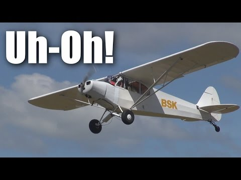 scary-fullsized-piper-cub--takeoffs-and-landings-at-nzto