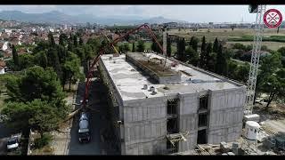 Radovi na izgradnji osnovne škole sa sportskom salom, 13.09.2021