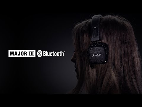 Наушники Marshall MAJOR III Bluetooth черный