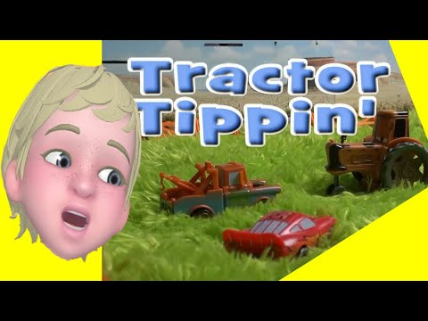 Lightning And Mater Tractor Tipping