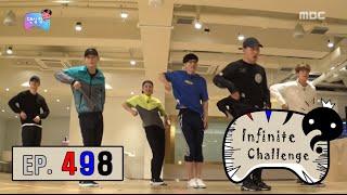 [Infinite Challenge] Infinite Challenge - EXO youngest Jae Seok Yoo is dance prodigy ?! 20160917