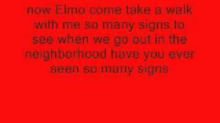 Chris Brown ft  Elmo, See the signs