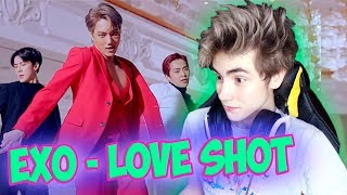 "EXO 엑소 ""Love Shot"" MV Реакция | Экзо Лав шот | Реакция на EXO Love Shot | k-pop группа EXO"