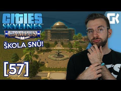 ŠKOLA SNŮ! | Cities Skylines S02 #57