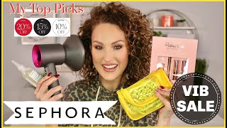 MY TOP SEPHORA VIB SALE RECOMMENDATIONS!   The Glam Belle